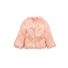 Freespirit Girls Mongolian Fur Coat