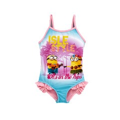 Minions Girls Style Swimsuit