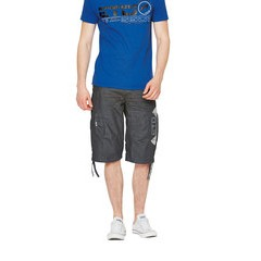 Eto Jeans Coated Logo Mens Shorts