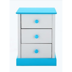 Kidspace JOJO 3 Drawer Bedside Chest