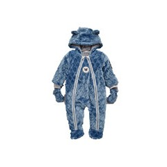 Ladybird Baby Boys Fleece Quilted Cuddle Suit