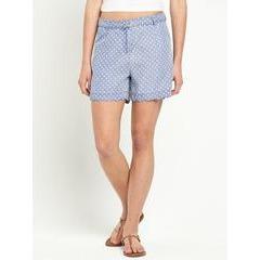 Love Label Blouson Polka Dot Shorts