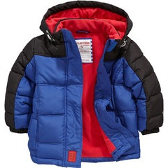 Ladybird Toddler Boys Wadded Coat With Hood