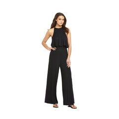 V By Very High Neck Tiered Jersey Jumpsuit