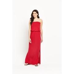 V by Very Petite Bandeau Jersey Maxi Dress