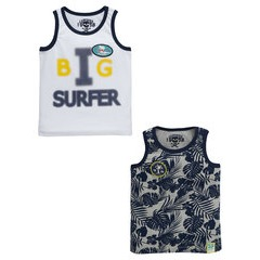 Ladybird Boys 2 Pack Sublimation Vests