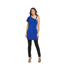 V By Very Asymetric Strap Jersey Tunic