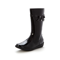 Clarks Girls Ting Chic Patent Boots