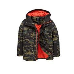 V By Very Boys Hooded  Camo  Jacket