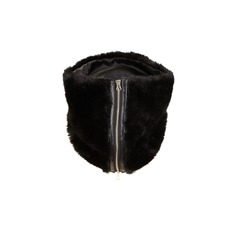 Fur Zip Detail Snood