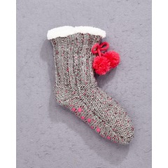 Freespirit Pack Of Two Sequin Lounge Socks