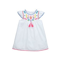 Ladybird Girls Embroidered Maxi Sun Dress