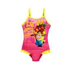Minions Girls Style Swimsuit
