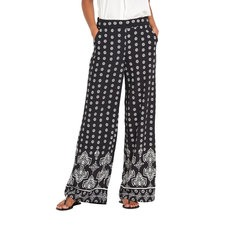 V By Very Wide Leg Printed Palazzo Trousers