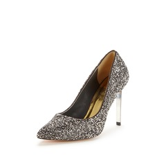 Ted Baker Sabade Grey Metallic Court Shoes