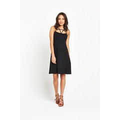 V by Very Strap Front Detail Dress