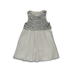 FCUK Sequin Overlay Dress