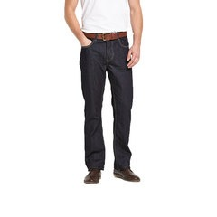 Goodsouls Belted Straight Fit Jeans