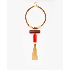 V By Very Geo Statement Necklace