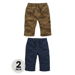 V By Very Pack of 2 Pull On Shorts