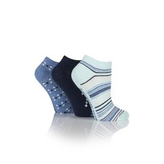 Jennifer Anderton Pack of 3 Stripe Trainer Socks