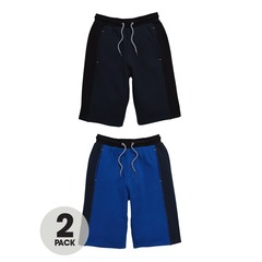 V By Very Pack of 2 Panel Sweat Shorts