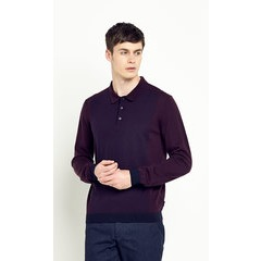 Ted Baker Knitted Panelled Polo Shirt