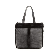Vero Moda Fur Trim Shopper