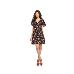 Miss Selfridge Floral Print Mini Tea Dress