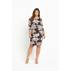 So Fabulous Print Scuba Bodycon Dress