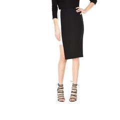 V By Very Step Hem Colourblock Skirt