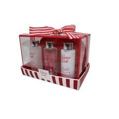 Grace Cole Frosted Cherry & Vanilla 4 Piece Travel Set