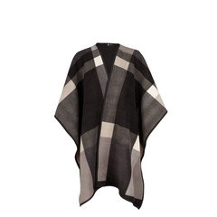 V By Very Check/Solid Reversible Cape