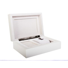 Butterfly Embellished Hinged Jewellery Box