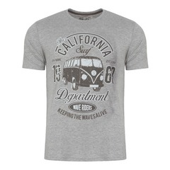 South Shore Surf Camper Print T-shirt