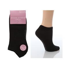 Jennifer Anderton Pack of 3 Ladies Plain Trainer Socks