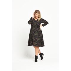 Alice & You Short Sleeve Midi Printed Dress