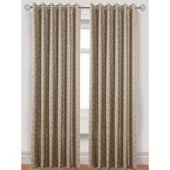 Laurence Llewelyn-Bowen Gloriental Lined Eyelet Curtains 229x137cm