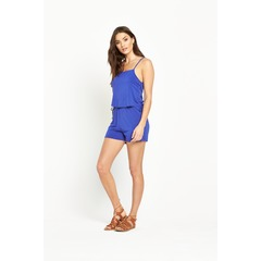 V by Very Tie Side Lace Up Jersey Playsuit