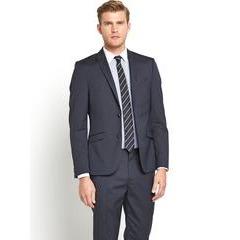 Taylor & Reece Mens Peak Lapel Single Breasted Slim Fit Suit Jacket