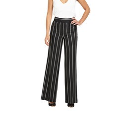 V By Very Wide Leg Pinstripe Trousers