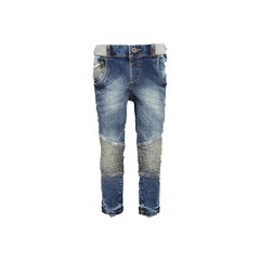 Mini V By Very Boys Pull On Biker Style Jeans
