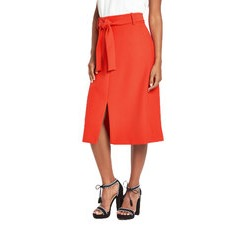 Warehouse Belted Skirt
