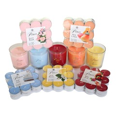 Price's 5 Jar, 90 Tealight Summer Candle Set