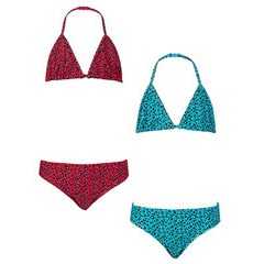 Freespirit Girls Pack of Two Triangle Bikinis