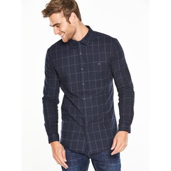 V by Very Long Sleeved Flannel Check Shirt