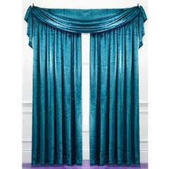 Laurence Llewelyn-Bowen Curtain Call Velvet-effect Scarf Valance