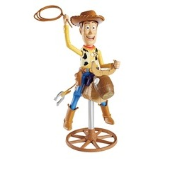 Toy Story Bull Riding Woody Talking Figure