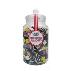 Extra Large Candy Shop Liquorice All Sorts Jar 1.9kg