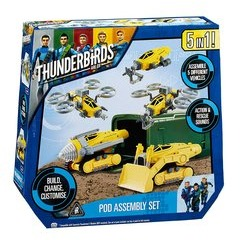 Thunderbirds Are Go 5-in-1 POD Assembly Set
